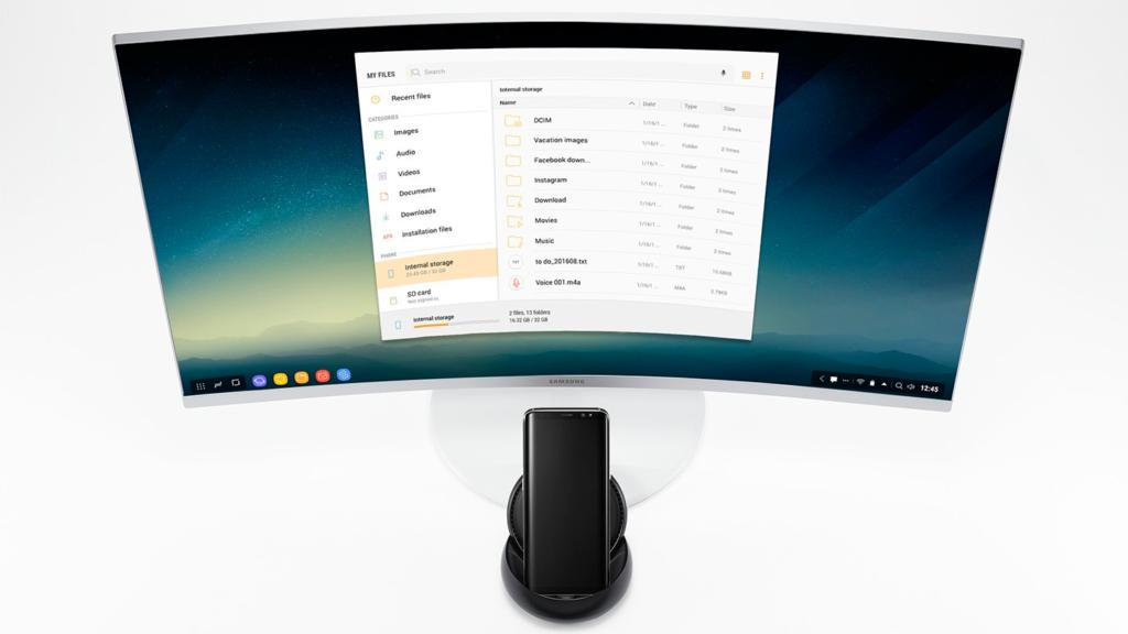 Новая функция для ноутбуков в Samsung Galaxy S10